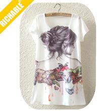 MST1346 Richable T Shirt Color Combinations With T Shirt Women 2015