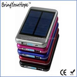 2015 hot sale 5000mAh solar usb power bank charger (XH-PB-100B)