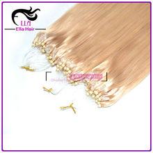 Best Quality Micro-ring 100% Virgin Human Hair Extension