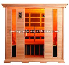 6 person wooden house