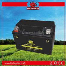 Últimas gel MF 12 v 9ah mejor precio batería de la motocicleta / celular