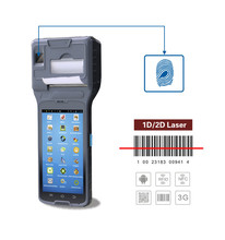 Android barcode scanner with printer wireless and nfc reader 3G wifi
