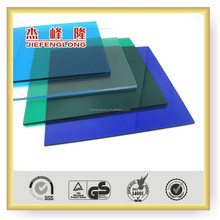 new product 1.1-12mm plastic roofing colored glass sheet