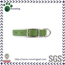 Classic pet products decorative olive green dog collars