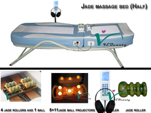 2015 full body jade massage bed second hand automatic massage table
