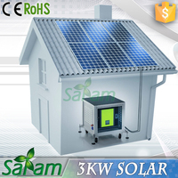 3kw portable wind solar hybird power system