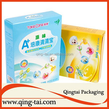 Packaging box for food packing