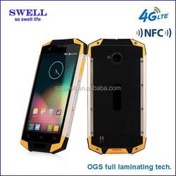 OGS full laminating tech 4G LTE outdoor waterproof smartphone IP68 5.0inch IPS 1280*720 LTE NFC X9