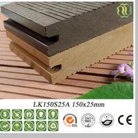 Wood Plastic Composite Deck Floor,CE Test Eco-friendly Deck Board