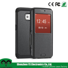 Newest smart tpu pu leather flip cover for mobile phones