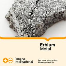 High purity Rare Earth Metals - Erbium Metal Er 99.9% raw material