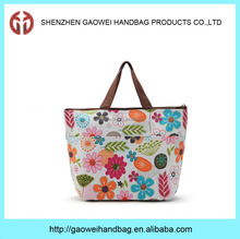 Wholesale beauty's insulated foil lining clear lunch bag