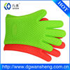 silicone finger bbq oven glove/kitchen silicone oven glove with fingers