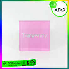 "Apex On stock selling acrylic plate stand 5"" adjustable easel acrylic plate display stand, wholesale plastic plate holders"