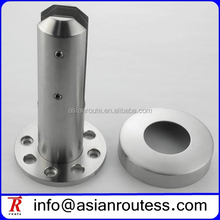new design round glass spigot with 8 holes in the base plate