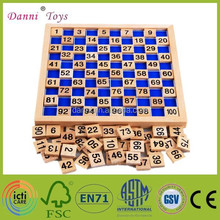 Wholesale Number Cognition Educational Montessori Wooden Toys