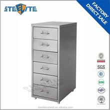 used six drawer Helmer Korea hot sale steel lockers