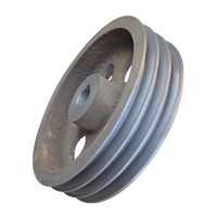 casting cable pulley wheel,zinc alloy strap wheel / v-belt pulley,Cast single wheel pulley