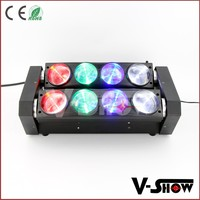 Beam Moving Head Sweeper RGBW Double Line Spider Led Stage Light DJ Club Effect