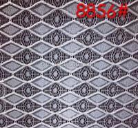 Cord lace fabric ladies suits lace design 8856