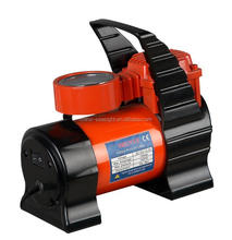 portable 12V car air compressor, metal car air compressor