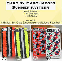 marc jacobing summer pattern premium soft case for iphone 6