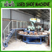Used pvc shoe moulding machine ( KCL brand 2013 year )