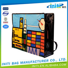 Made in China low price hot sale promotional non woven grocery tote bag