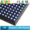 P6 SMD LED al aire libre de la pantalla