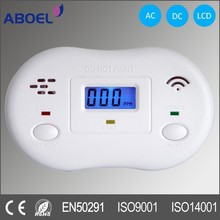9V Battery Operated Carbon Monoxide Alarm with AC Adapter