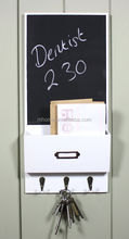 Vintage white MDF memo board for gardening