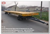 low bed trailer dimensions