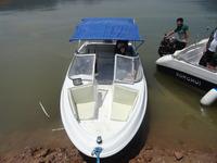 5.5M Fiberglass speed boat in yacht /Fiberglass Motor Boat