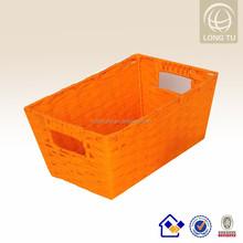 papier seil hand gewebt geschenk papierkorb handweberei