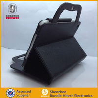 For iPad2/3/4 standing cases pc portable handbags
