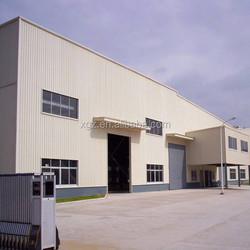 Lightweight Prefab Workshop Factory Building Steel Construction