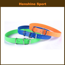waterproof and flexible PVC sport dog collar