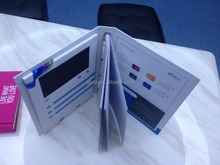 2015 Fashion a4 printed Video Business Card With lcd New Design