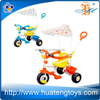 H150826 musical sunshade children tricycle with sunshade tricycle for child