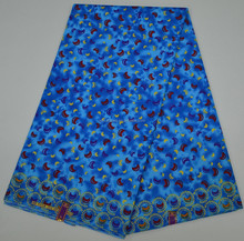 Wholesale wax fabric supplier cotton printed dress material for garment
