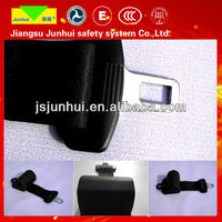 Common-use design two point retractable car seat belt clips