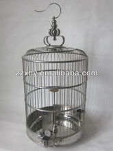 Stainless Steel Lark Bird Cage Chinese Round Cage Pet House Top Wholesale