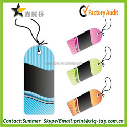 2015 China custom rich varied special garment tag high quality low cost