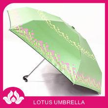 """19""""*6k custom print aluminum 5 fold umbrella"""