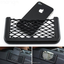 Universal Car organizer Seat Side Back Storage Net Bag Phone holder Pocket