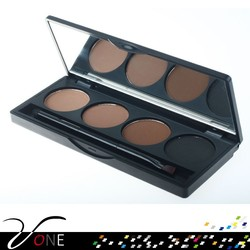 Waterproof eyebrow powder,4 color eyebrow palette