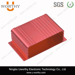 Custom Extruded Aluminum Enclosure for Electronics/Aluminum Box/Aluminum Extrusion Box