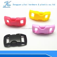 colored plastic side release buckle,cheap paracord bracelet buckles,3/8 paracord buckle