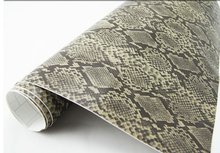 Hot selling car sticker snake skin film vinyl wrap matte car body wrap with air bubble free