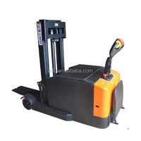 MFU SCQD Chinese factory sale Full Electric small reach Stacker forklift